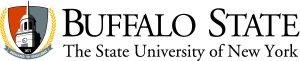 Buffalo State Crest Logo Horizontal